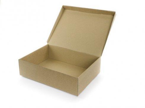 Otwarte kartonowe pudełko